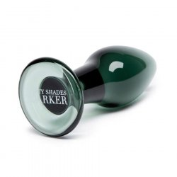 Fifty Shades Darker Collection: Something Darker Glass Pleasure Plug 1 Product Image