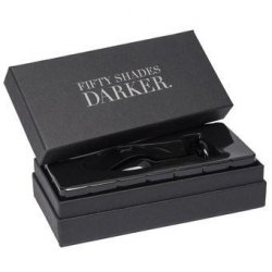 Fifty Shades Darker Collection: Something Darker Glass Pleasure Plug 7 Product Image