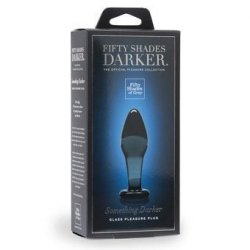 Fifty Shades Darker Collection: Something Darker Glass Pleasure Plug 9 Product Image