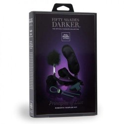 Fifty Shades Darker Collection: Principles Of Lust Romantic Couples Kit 10 Product Image