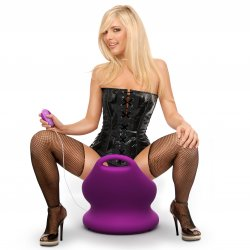 Fetish Fantasy Series International Rockin' Chair - Purple 7 Product Image