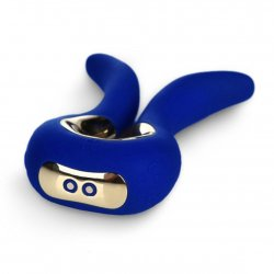 G Vibe Mini Rechargeable Massager - Royal Blue 3 Product Image