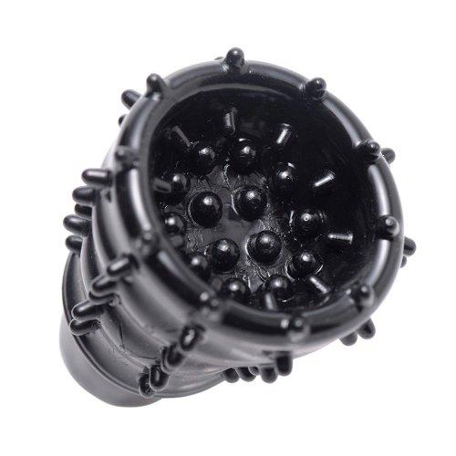 Trinity Vibrating Penis Head Teaser - Black 4 Product Image