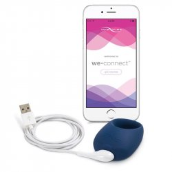We-Vibe Pivot App Compatible Vibrating Cockring - Midnight Blue 7 Product Image