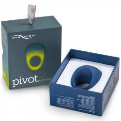 We-Vibe Pivot App Compatible Vibrating Cockring - Midnight Blue 9 Product Image
