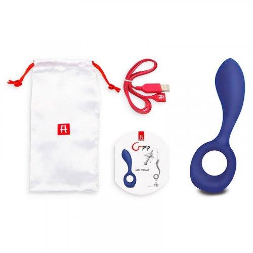 G-Vibe G-Pop Vibrator - Royal Blue 5 Product Image