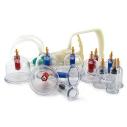 Master Series: Sukshen 12 Piece Cupping System - Clear 4 Product Image