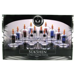 Master Series: Sukshen 12 Piece Cupping System - Clear 6 Product Image
