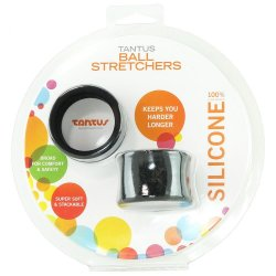 Tantus: Silicone Ball Stretcher - Black 6 Product Image