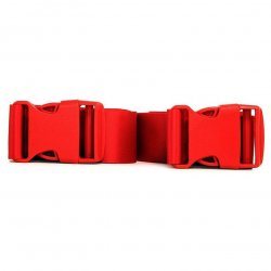 Strap-Ease XL Bondage Straps - 8 Foot - Red 3 Product Image