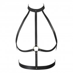 Bijoux Indiscrets: Maze H Harness - Black 1 Product Image