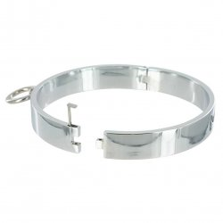 Master Series: Chrome Slave Collar - Small 3 Product Image