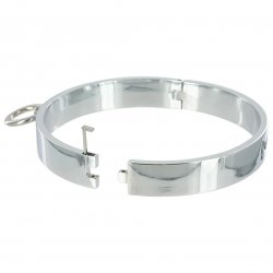 Master Series: Chrome Slave Collar - Med/Lg 2 Product Image