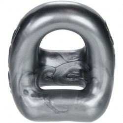 Ox Balls 360 2-Way Cockring + Ballsling - Steel 2 Product Image
