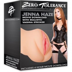 Zero Tolerance Jenna Haze Movie Download with Realistic Vagina Stroker Product Image