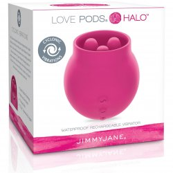 Jimmy Jane: Love Pods Halo - Dark Pink 6 Product Image