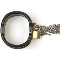 Rapture: Steel Band Ankle Cuff Shackles - Small 4 Product Image