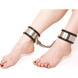 Rapture: Steel Band Ankle Cuff Shackles - Large 2 Product Image