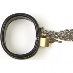 Rapture: Steel Band Wrist Cuff Shackles - Small 2 Product Image