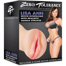 Zero Tolerance Lisa Anns Movie Download With Realistic Vagina Stroker  Product Image