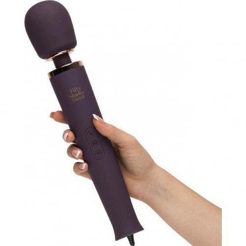 Fifty Shades Freed: Awash with Sensation Mains Wand Vibrator 5 Product Image