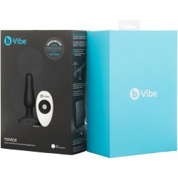 B-Vibe Novice Plug - Black 9 Product Image