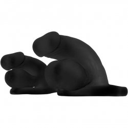 "Perfect Fit: Buck Angel Fun Boy - 4.5"" - Black 4 Product Image"