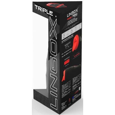 Lingox Triple Masturbator - Black Edition 5 Product Image