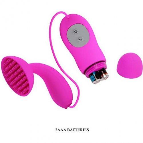 Pretty Love - Brady Clit Vibrator - Fuchsia 6 Product Image