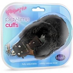 Play With Me: Play Time Cuffs - Black 3 Product Image
