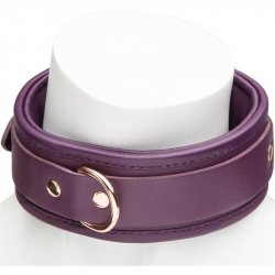 Fifty Shades Freed: Cherished Collection Leather Collar - Purple & Gold 7 Product Image