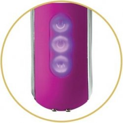 Cloud 9 Pro Sensual - Air Touch IV G-Spot Clitoral Rabbit - Plum 4 Product Image