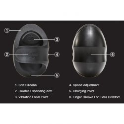 Hot Octopuss: Pocket Pulse Vibrating Stroker Guybrator 8 Product Image