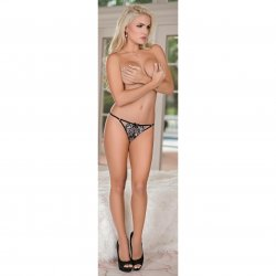 Exposed - Crossdye Lace 3 Pack - Black - Queen 2 Product Image