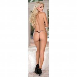 Exposed - Crossdye Lace 3 Pack - Black - Queen 4 Product Image