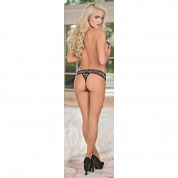 Exposed - Crossdye Lace 3 Pack - Black - Queen 7 Product Image