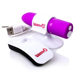 Screaming O - Positive Remote Control Vibe - Purple 3 Product Image
