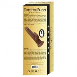 Femme Funn Wireless Turbo Rabbit 2.0 - Brown 4 Product Image