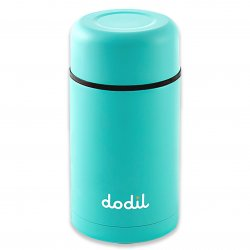 DoDil Shape Your Own Dildo with Thermos Canister - Turquoise 2 Product Image