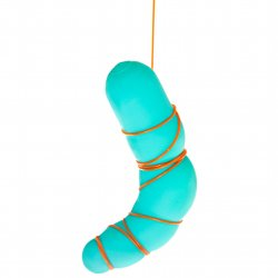DoDil Shape Your Own Dildo with Thermos Canister - Turquoise 4 Product Image
