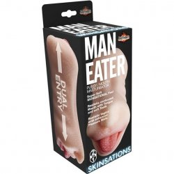 Man Eater Pussy Mouth Dual Entry Masturbator 3 Product Image