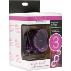 Triple Thrill 3 in 1 Silicone Wand Attachment 6 Product Image