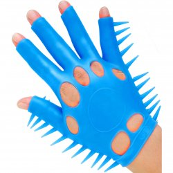 Neon Luv Glove - Blue 3 Product Image
