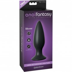 Anal Fantasy Elite Collection Large Rechargeable Anal Plug 1 Product Image