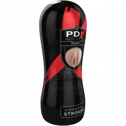 PDX Elite Vibrating Pussy Stroker 2 Product Image