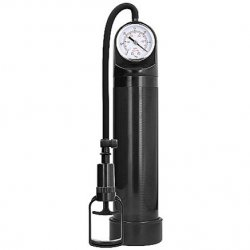 Pumped: Comfort Pump with Advanced PSI Gauge - Black Product Image