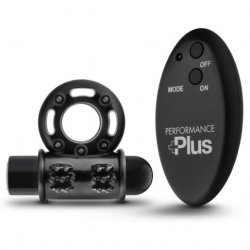 Performance Plus Thunder Wireless Remote Cock Ring - Black Product Image