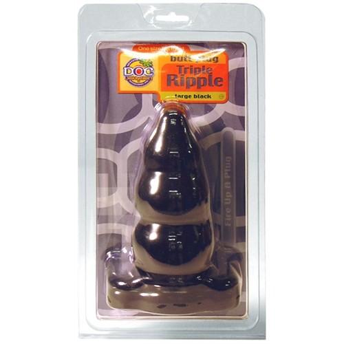Large Triple Ripple - Black 2 Product Image
