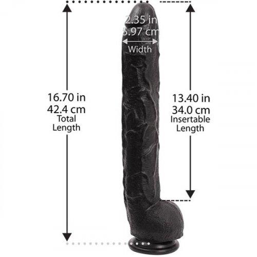 "Dick Rambone Cock -  Black - 17"" 4 Product Image"