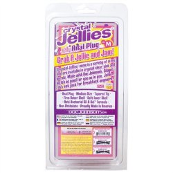 Crystal Jellies Medium Plug - Pink 9 Product Image